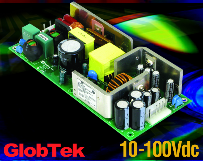 Power Supply has 2nd Variable Output 10-100Vdc Meets Medical / ITE Applications 50W